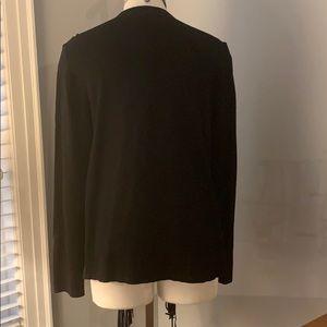 Sweaters - 🌻Black fringe cardigan